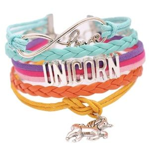 Jewelry - New, Love unicorn charm braclet